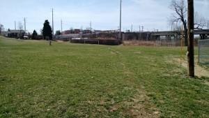 playing fields at Kellogg Park