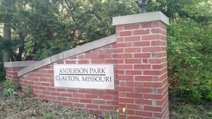 entrance sign Clayton Dog Park